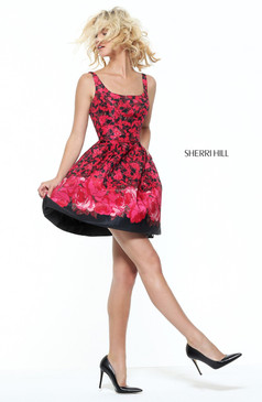 Sherri Hill 50933 Short Prom Dress