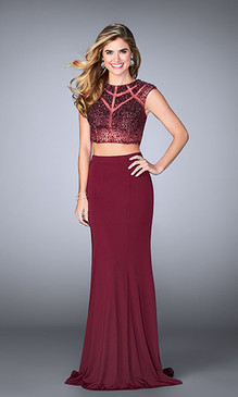 Gigi by La Femme 23910 Two Piece Dress