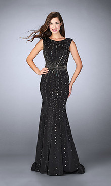La Femme 23680 Mermaid Dress