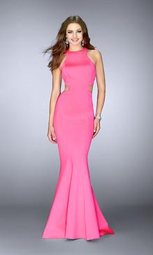 La Femme 24636 Neoprene Dress