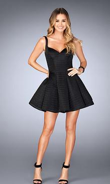 La Femme 24628 Short Dress
