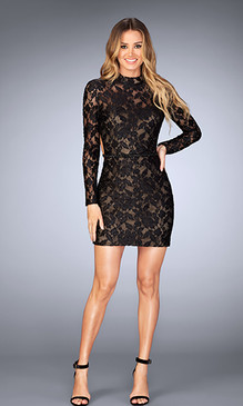 La Femme 25024 Short Dress