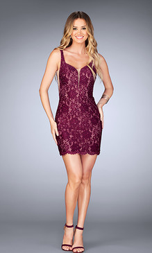 La Femme 25025 Short Dress