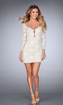La Femme 25038 Short Dress