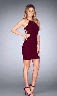 La Femme 25058 Short Dress