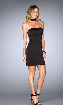 La Femme 25062 Short Dress