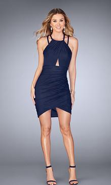 La Femme 25109 Short Dress