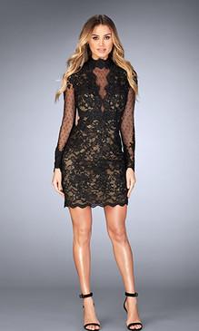La Femme 25121 Short Dress