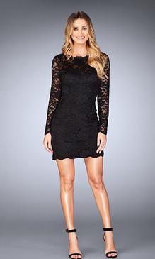 La Femme 25134 Short Dress