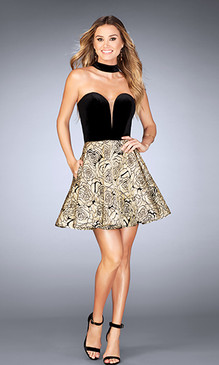 La Femme 25168 Short Dress