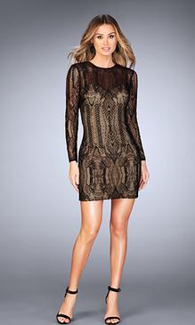 La Femme 25289 Short Dress