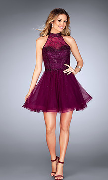 La Femme 25293 Short Dress