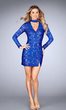 La Femme 25373 Short Dress