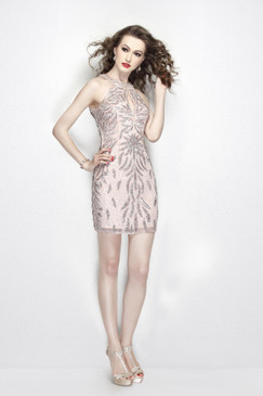 Primavera 1910 Short Sequin Cocktail Dress