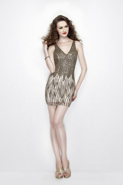 Primavera 1911 Short Beaded Dress