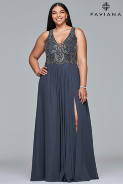 Faviana 9420 Plus Size Dress