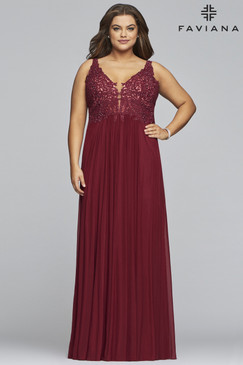 Faviana 9428 Plus Size Dress