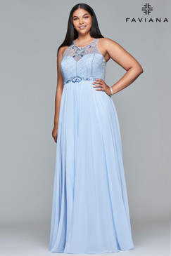 Faviana 9436 Plus Size Prom Dress