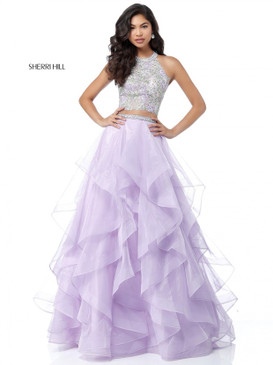 Sherri Hill 51615 Two Piece Ballgown Dress