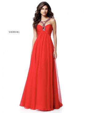Sherri Hill 51639 Chiffon Dress