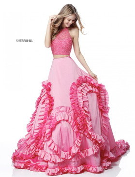 Sherri Hill 51577 Two Piece Ballgown Dress