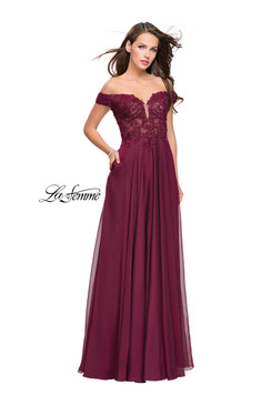 La Femme 25129 Prom Evening Dress