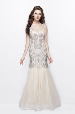 Primavera 3001 Sequin Prom Dress