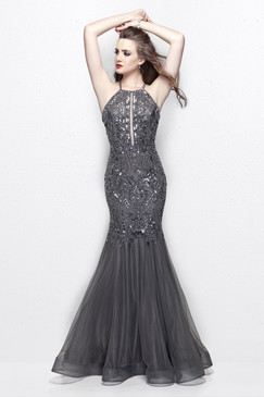 Primavera 3004 Sequin Prom Dress