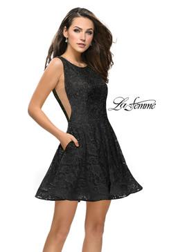 La Femme 26616 short homecoming dress