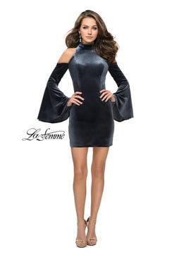 La Femme 26628 short homecoming dress