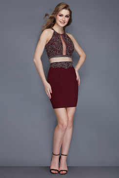 Primavera Couture 3103 Short Two Piece Dress