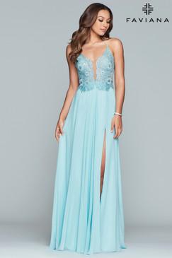 Faviana S10228 Flowy Dress