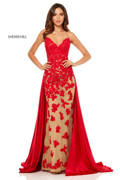 Sherri Hill 52538 Lace Dress