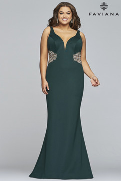 Faviana 9448 Plus Size Dress