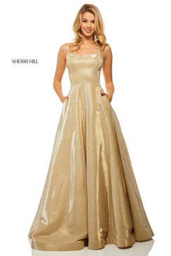 Sherri Hill 52716 Glitter Ballgown Dress