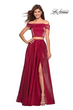 La Femme 26919 two piece dress