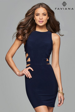 Faviana 7853 Short Dress