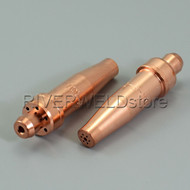 Acetylene Cutting Tips 3-101 SIZE 2 For VICTOR Style Torch 2pk