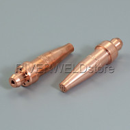 Acetylene Cutting Tips 3-101 Size 0 for Victor Style Torch 2pk