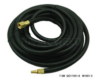Power Cable Hose FIT P80 Panasonic Plasma Cutter Torch 25 Feet M16*1.5 Connector