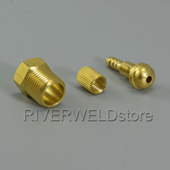 Miller Gas Quick Fitting Hose Connector Fit Plasma Cutter and TIG Welding Torch