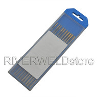 1.5% Lanthanated WL15 TIG Welding Tungsten Electrode Assorted Size 3/32~1/8,10PCS