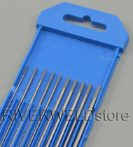 2% Ceriated TIG Welding Tungsten Electrode WC20 Assorted .040-1/16-3/32-1/8,10pcs