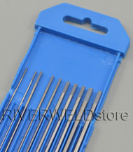 "2% Ceriated Grey Tungsten Electrode WC20 Assorted Size .040""-1/16-3/32-1/8"" 10pcs"