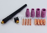 Details about  TIG KIT Alumina Nozzles, Collet Bodies For TIG Torch WP PDA DB SR 9 20 25,14PK