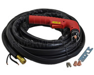 S45 Air Plasma Cutter hand torch Complete 7.6M 25Foot