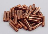 15AK MB15 MAG/MIG Welding Torch Contact Tip Φ0.9 M6x25mm ,50PK