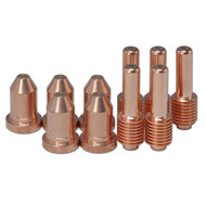 192052 Extended Nozzles 40Amp &192048 Electrode Fit For Miller ICE-40C 55C ,10pk