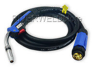MB 24KD MIG/MAG Welding Torch 3 meter CO2 mig torch Euro connector central