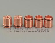5pcs 9-8236 Drag Shield Cup 70-100A Fit For Thermal Dynamics SL60/SL100 70-100Amp Plasma Cutter Torch